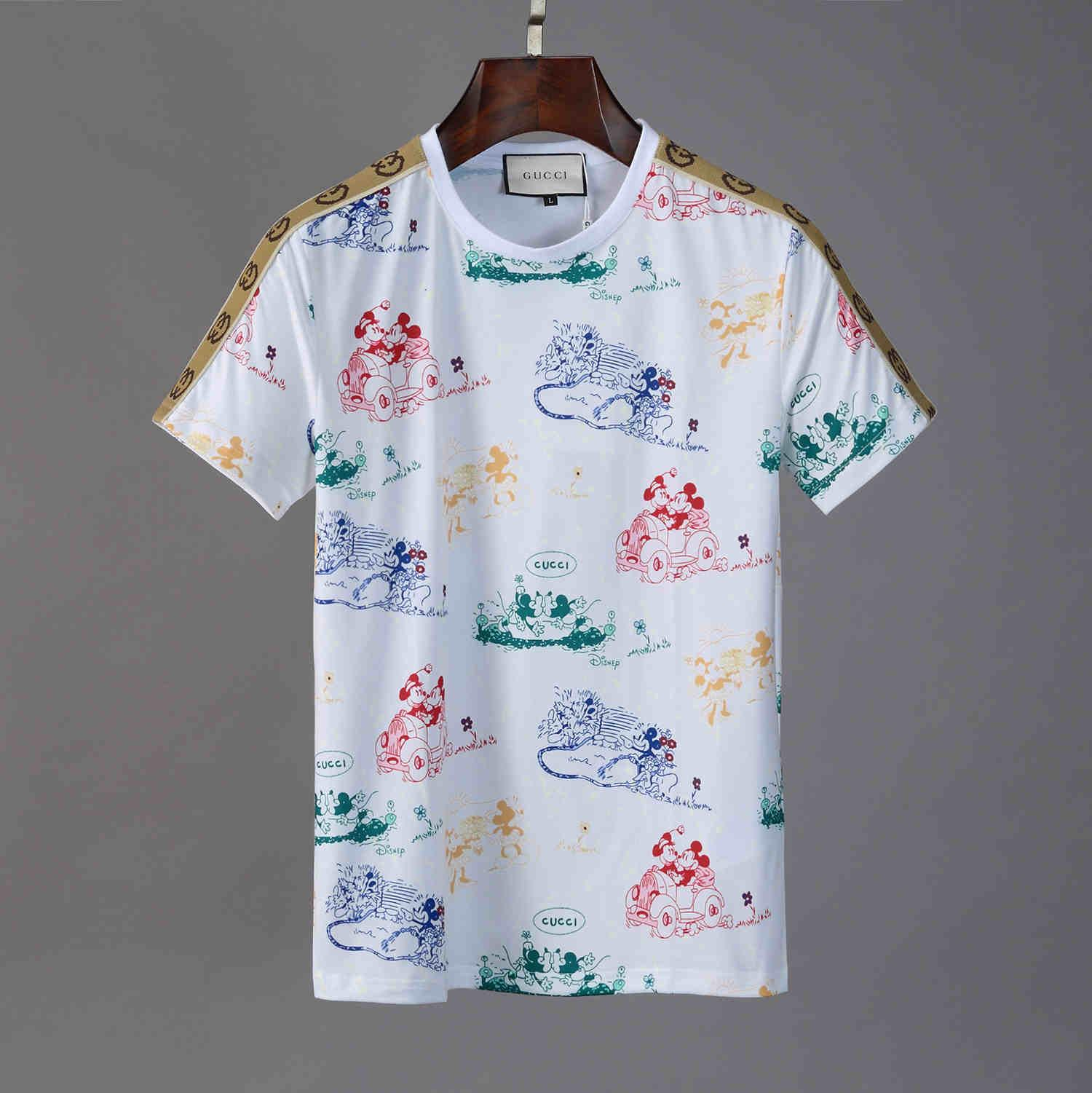 2020 Mens Summer New Fashion Sports T Shirt O Neck Short Sleeve Mens Design Embroidered Cotton T Shirt Men J8 T Shirt S Tees Shirts From Dd01 20 43 Dhgate Com