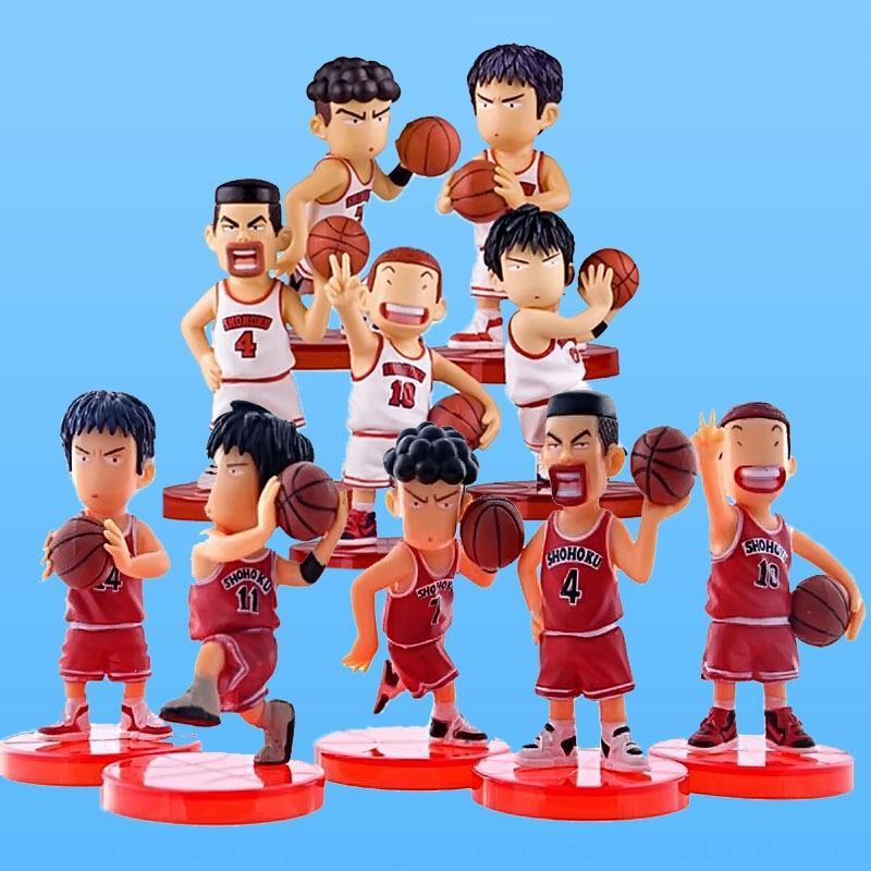 pastel de Dunk adornos decorativos de baloncesto niño de hornear escena juguetes Juguetes decorativos Baloncesto juguete de la mano del coche-montado muñeca sMXQY