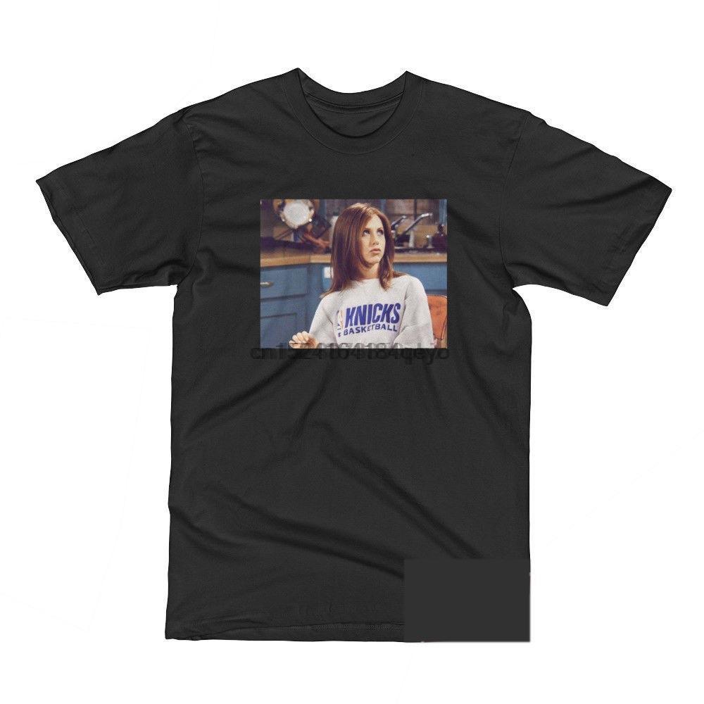 JENNIFER ANISTON Knicks AMIGOS 90S CAMISETA TV VER SITCOM 90S NYK HOMBRES 'S-3XL de la camiseta de manga corta de los hombres divertidos Top del tamaño extra grande
