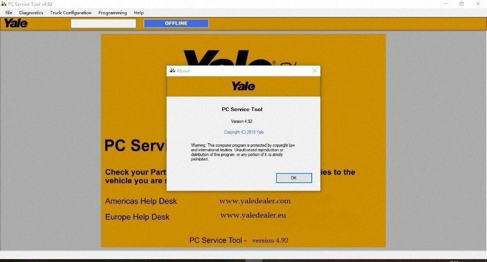Yale Servizio PC Tool V4.92 con licenza con l'utente e passa per la diagnosi della macchina Diagnostic Tool Motorcycle più PC Motor Vehicle Da, $ 1 bikr #