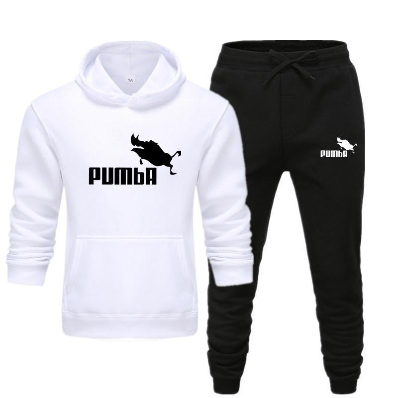 Herren-Sets Hoodie und Hosen Sweatsuit Male Sportanzug Männer Set 2020 Marke Sportanzug Track-Sweat Print Alpha Jacken
