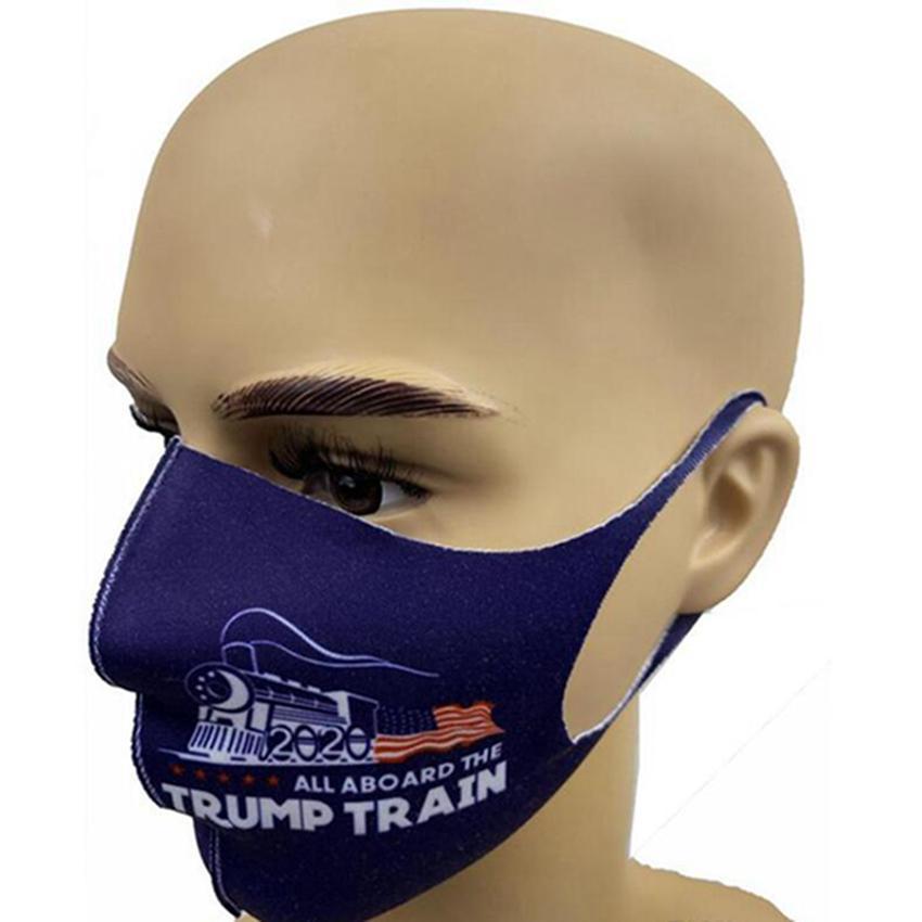 Maschere viso Trump 2020 accessori per la casa americana Elezione antipolvere Stampa maschera universale per uomini e donne Mask Designer IIA199