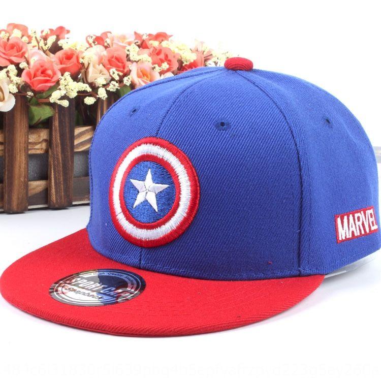 Düz Hip-hop, beyzbol şapkası kenar beysbol şapkası açık Kore tarzı moda yeni çocuk şapka Amerikan kalele erkek ve kız hip-hop şapka