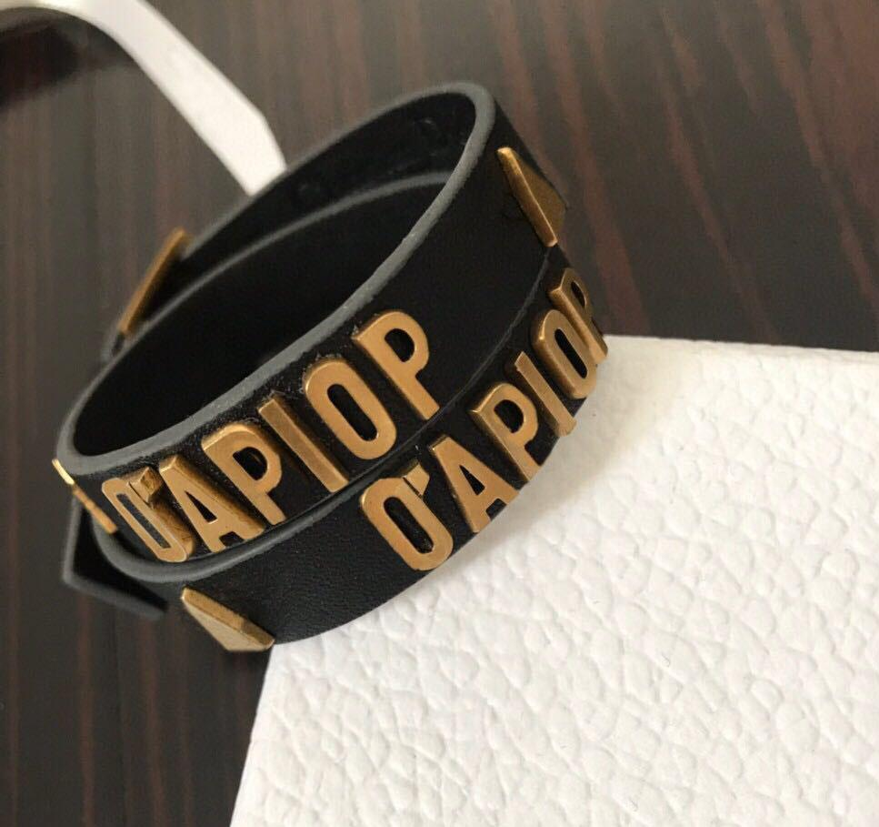 carta Couro Moda dobraram gargantilhas colar pulseiras gravada por homens e mulheres partido amantes presente da jóia hip hop com caixa