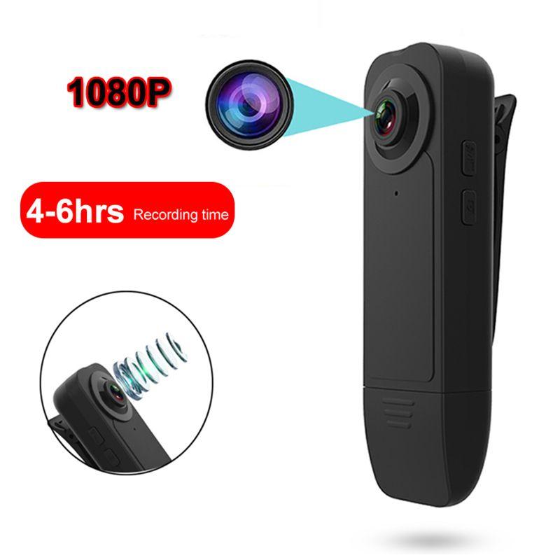 جديد لبس HD 1080P مين كاميرا مسجل فيديو مع كاميرا للرؤية الليلية الأمن كشف الحركة الصغيرة للمنزل كاميرا خارج