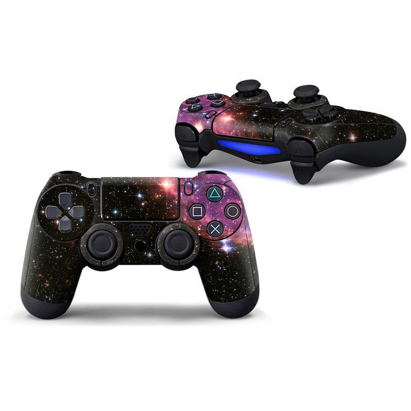 Controlador de cor da mistura Decorações do controlador Gamepad Adesivo para Gamepad PS4