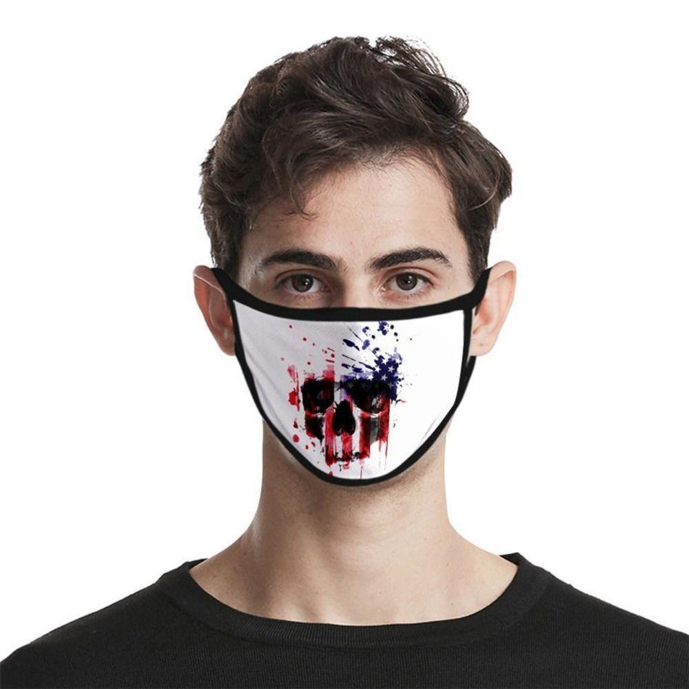 Foral печати Маска двойного слоя Face пыле Anti-Uv Дизайнер Маски Мода Женщины Мужчины Mout G4N3 HPAE1