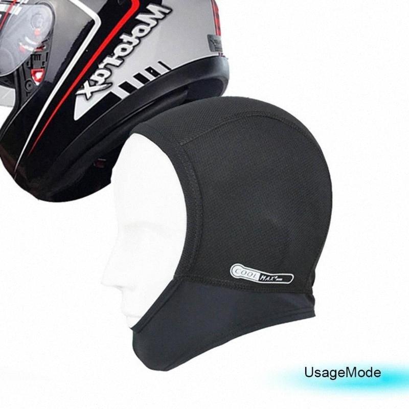 Sports Fitness Skull Cap Moisture Cycling Helmets Headgear Liner Hat Beanies