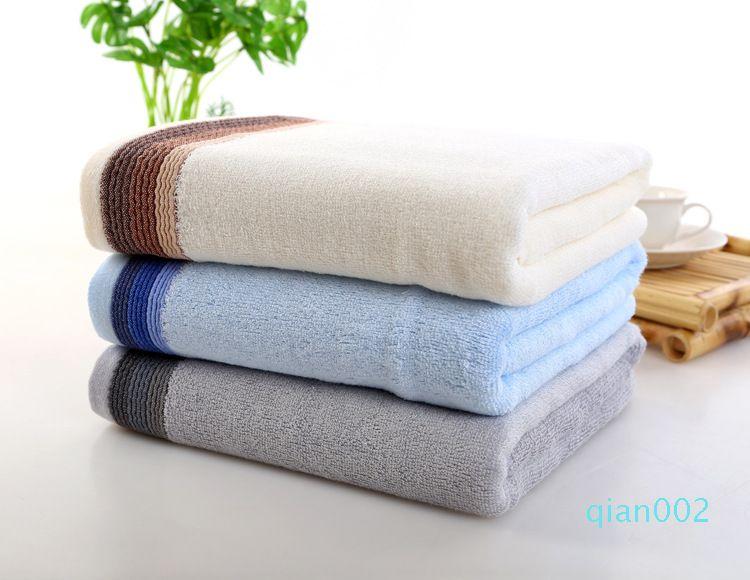 O transporte da gota 70 * 140 centímetros 100% Bamboo Adulto Toalha de banho Têxtil grande toalha Hotel Beach Xaile Toallas