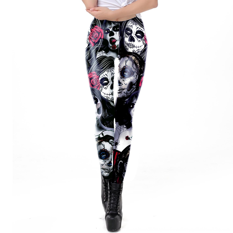 MiplI Новые моды тощий эластичные колготки Banshee напечатаны на открытом воздухе штаны все-матч стрейч леггинсы Узкие носить брюки плотно