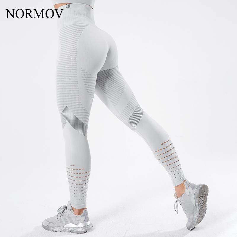 ATHVOTAR гетры женщин Фитнес Push Up Бесшовные высокой талией Спорт гетры тренировки выдалбливают дышащий Женщины легинсы Mujer