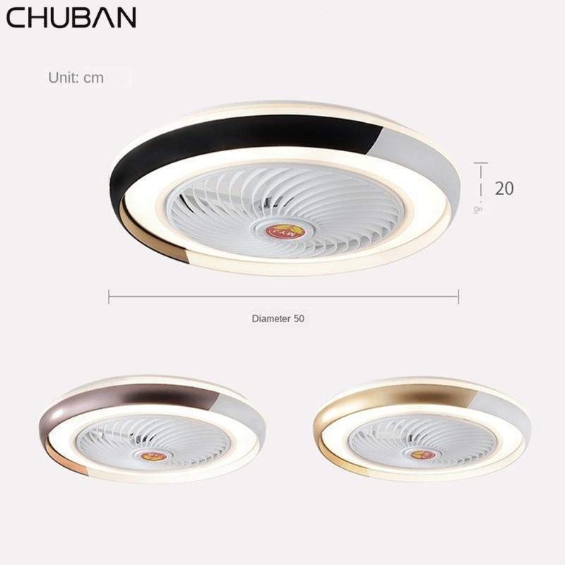 50cm Bluetooth APP Smart-Deckenventilator mit Licht Fernbedienung Fans LightsBedroom Decor