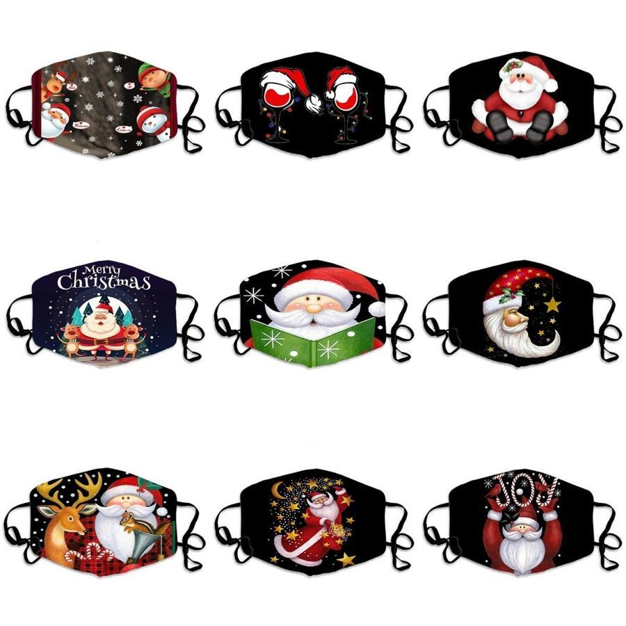 Leopard Print Digital Printing Prective maschera adulti Ear-Hanging Mask multifunzionale freddo ghiaccio seta traspirante Mask # 662