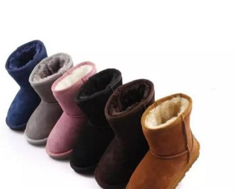 2020 Will Sell The New Real Australian WGG5821 High Quality Kids Boy Girl Children Baby Warm Snow Boots Juvenile Student Snow Winter Boot