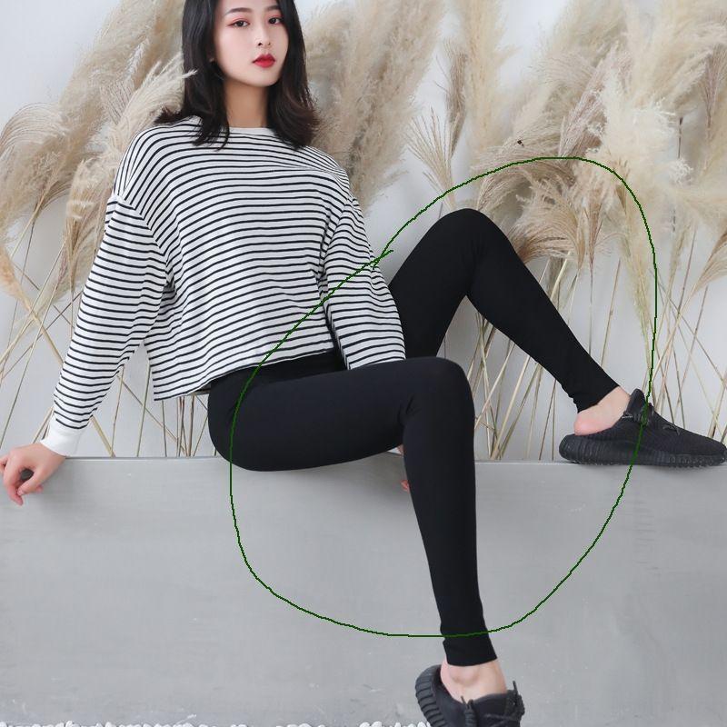 5Rop6 Korean sports cotton Yoga sports outer leggings women's pilling new Tight stretch women's ankle-length pants yoga pants