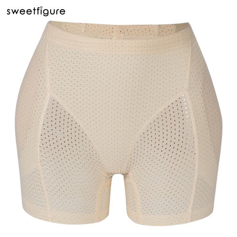 Butt Lifter imbottita Panty Migliorare Body Shaper per le donne respirabile senza giunte Controllo Mutandine Booty Hip Enhancer Underwear Ascensore 200922