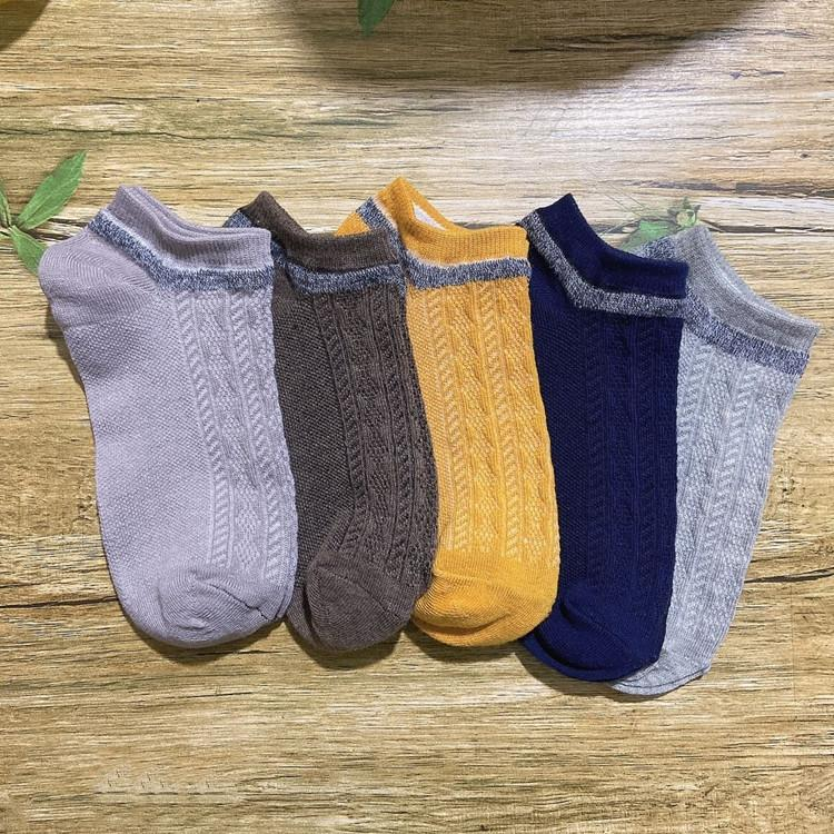 meias respirável estilo grosseiro algodão agulha algodão barco étnica dos homens zDdv8 barco Harajuku meias agulha dupla suor absorventes
