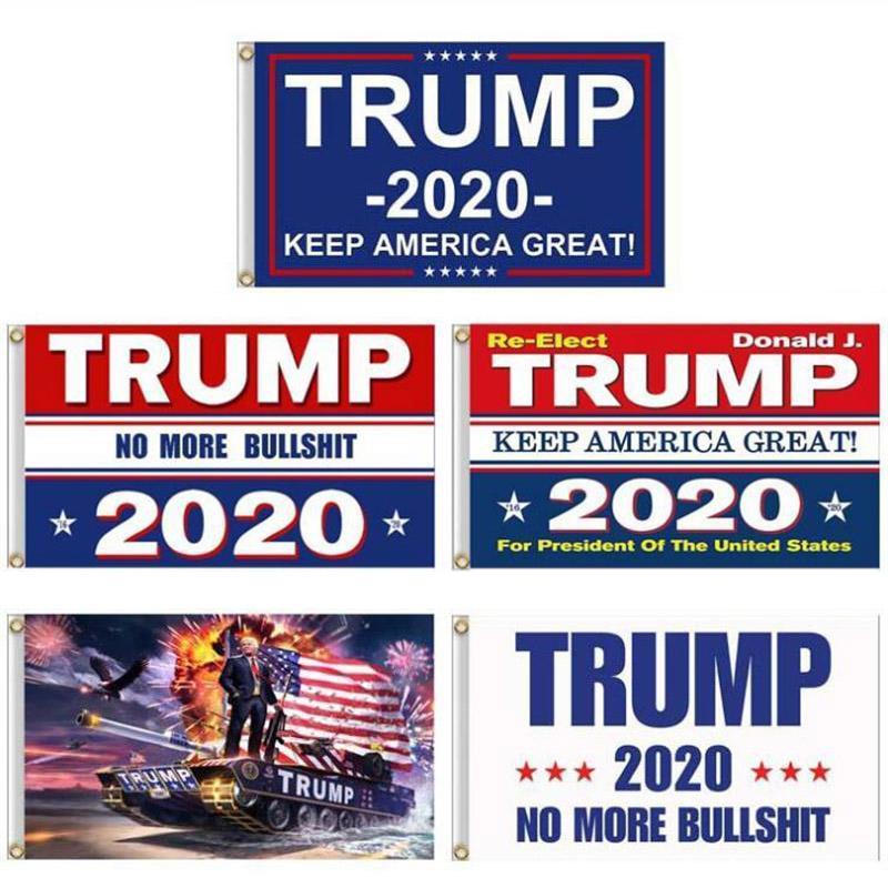 Президентская кампания Баннер Donald Trump 2020 Флаг Keep America Великого Дональд президент кампания Знамя 90 * 150см Сад Флаги FY6061
