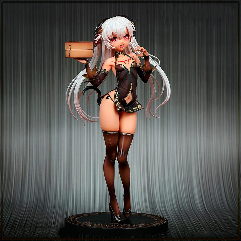 YENİ Hobi Japonya Amakuni Dai Kasshoku Jidai Philena Waal PVC Action Figure Anime Seksi Kız Şekil Modeli Oyuncak Toplama Doll Hediye MX200727