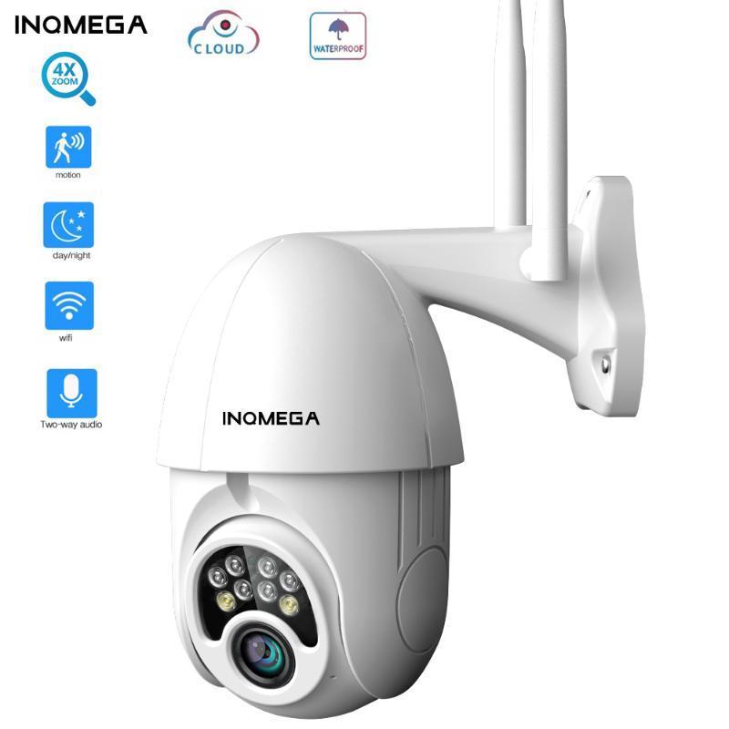 INQMEGA 4X Zoom PTZ IP Câmera 1080P Outdoor Speed Dome Segurança sem fio WIFI Camera Exterior Pan Tilt intempéries CCTV Camer