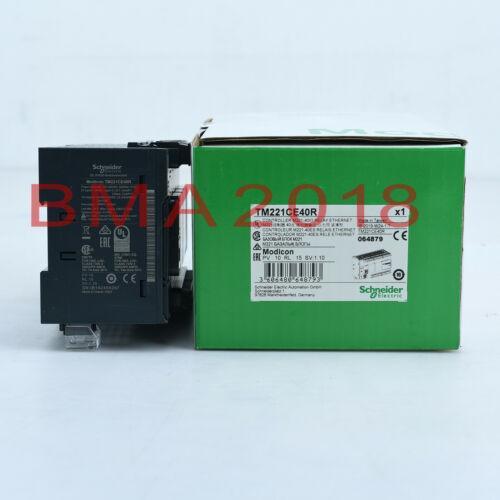 1Pc New In Box Schneider PLC программируемый контроллер TM221CE40R