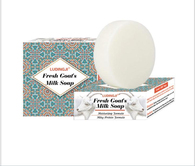 페이셜 클렌저로 부드럽게 피부 비누 염소 우유 수제 비누 100g을 깨끗하게
