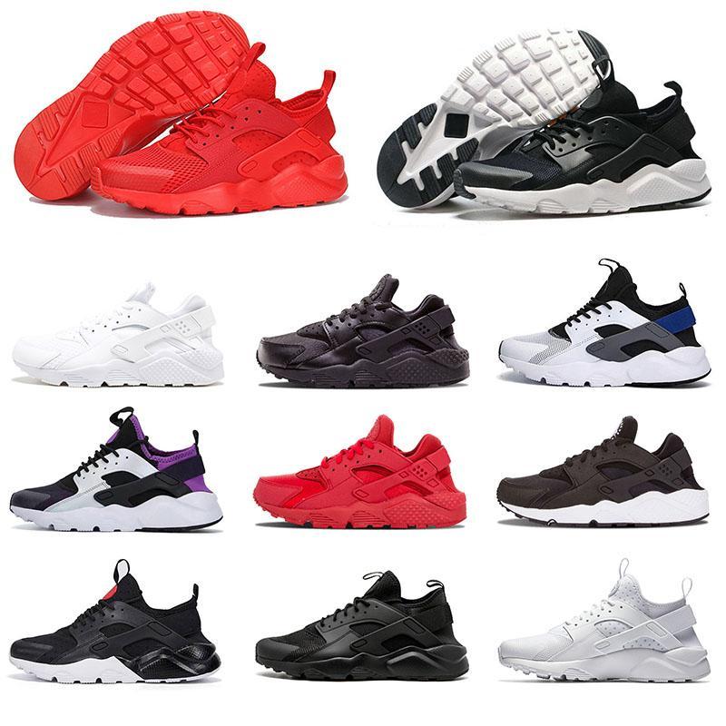 nike air huarache huaraches hurache Üst Kalite Huarache Hava Erkekler Kadınlar Üçlü Beyaz Siyah Hurache Huarache Ultra Huaraches moda Erkek Eğitmenler Spor Sneakers Ayakkabı Koşu
