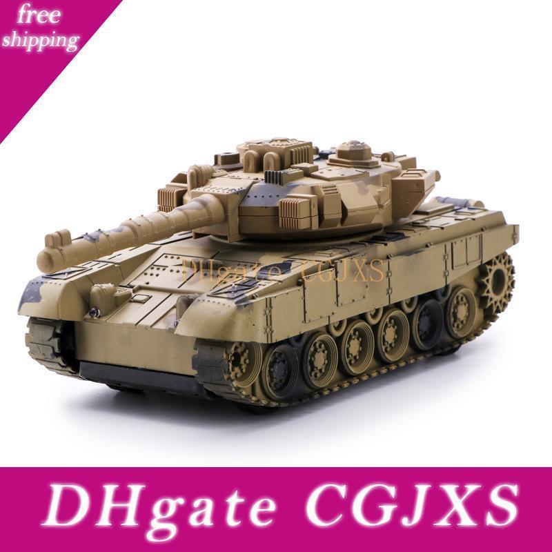 New Rc Tanque Duplo Battle Tank Car Remoto recarregamento Tanque Children '; S Toy Remote Control Simulação Pico duplo Car Modelo Toy Meninos