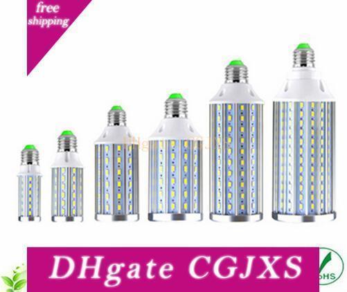 Новый Disign Полный Watt E27 E14 10w 15w 20w Алюминиевые светодиодные лампы 110v 220v 5730 Smd Leds Corn лампы для гостиной Освещение