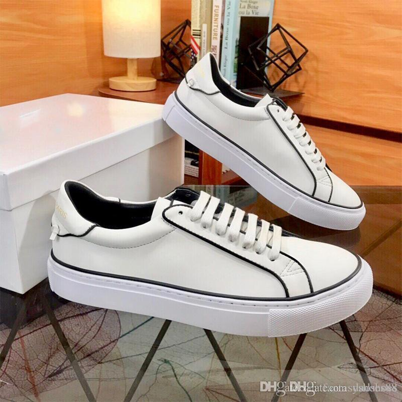 2020 de lujo nuevos zapatos de plataforma Hombres blanco reflectante Triple S para hombre de las zapatillas de deporte casual de moda para fiestas de la vendimia zapatos de calidad superior de cuero zapatos de moda