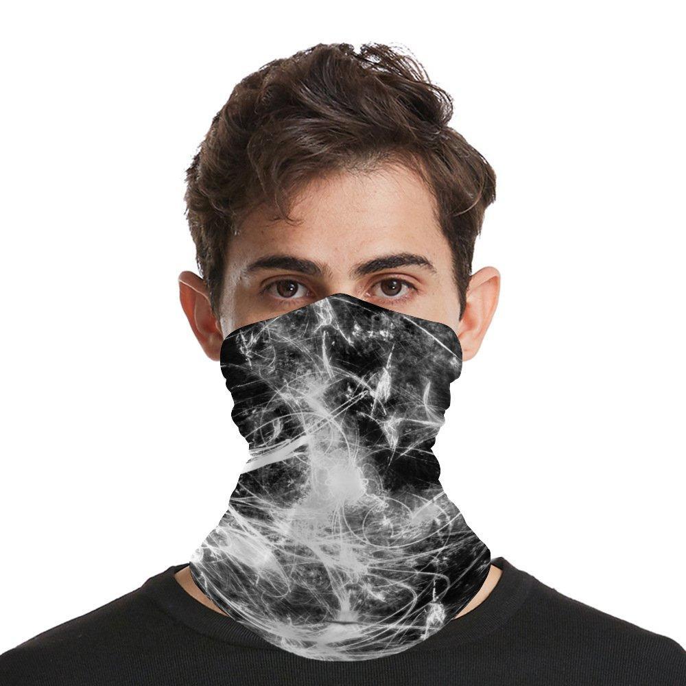 Senza soluzione di continuità Bandana Maschera Sciarpa Shield per SportOutdoor lavabile Bocca maschera di polvere UV di Sun-protezione Balaclava Uomo Donna