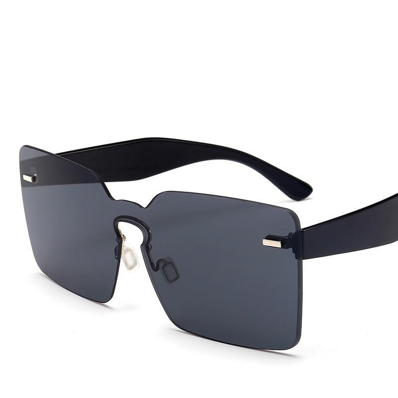 Sonnenbrille Verkauf einteilig Neue Mode Anti-Ultraviolett Hot Square Kostenlose Sonnenbrille Versand Einteiliges Randlose Trend Designer Dwtos
