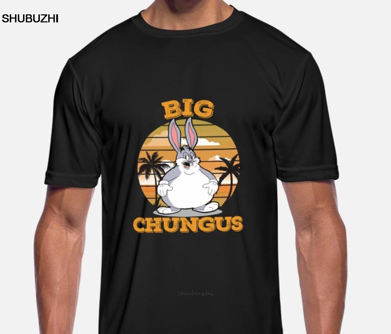 Verano divertido impreso los hombres mujeres de la camiseta camisetas frescas Gran Dank Meme Chungus camisas unisex Nueva Tshirt Moda