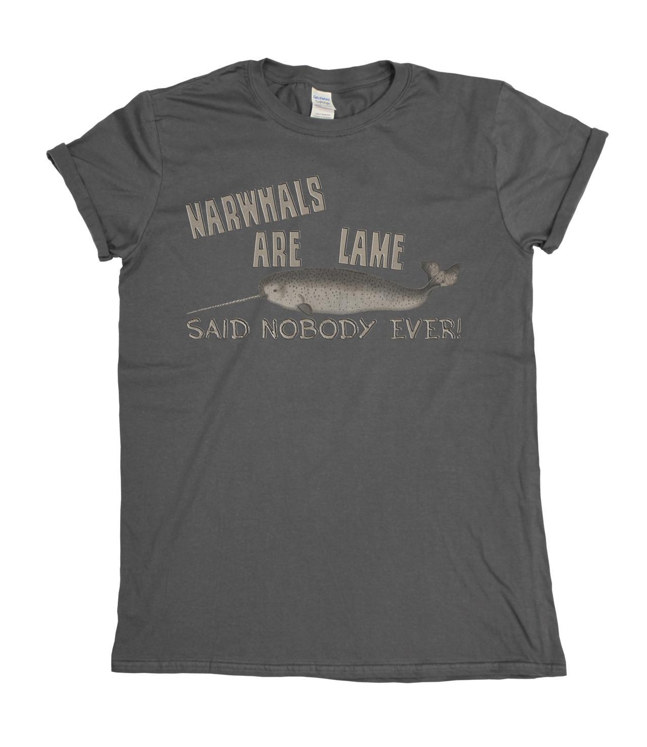 Narvali sono lame..Said nessuno ha mai Mens / Ladies T-shirt regalo di Natale freddo casuale orgoglio uomini della maglietta unisex di nuovo modo