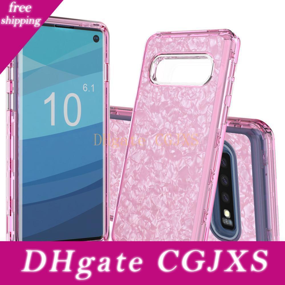 Для Samsung S10 Case Luxury Новые телефоны Случаи Heavy Duty Dual слойной всего тела Защитный чехол для Samsung Galaxy S10 Plus S10e
