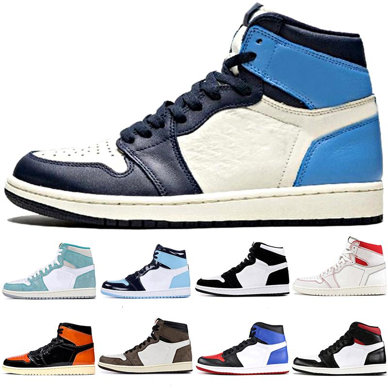 2020 Shoes Destemido basquete masculino Obsidian UNC torcer Mulheres Sports Sneakers quebrado sapatos encosto Pine verde Ture Mens sombra verde