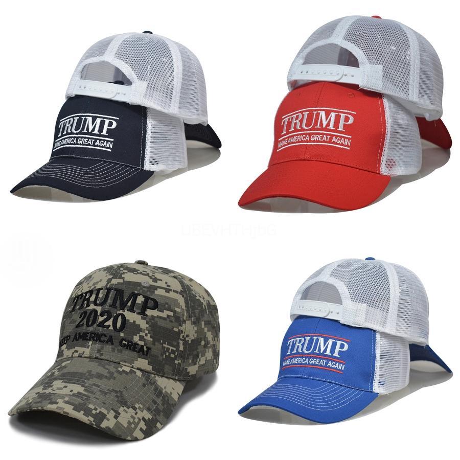 Singolo di OPP imballato cappello presidente degli Stati Uniti Cap Elezione Cap Trump lavato netto Trump baseball Capbaseball # 727