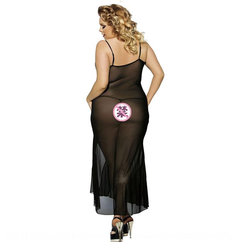 pb5wj più di formato camicia da notte in maglia prospettiva lunga più pigiama biancheria intima di formato camicia da notte della biancheria intima della maglia lunga sexy pigiami prospettiva sexy