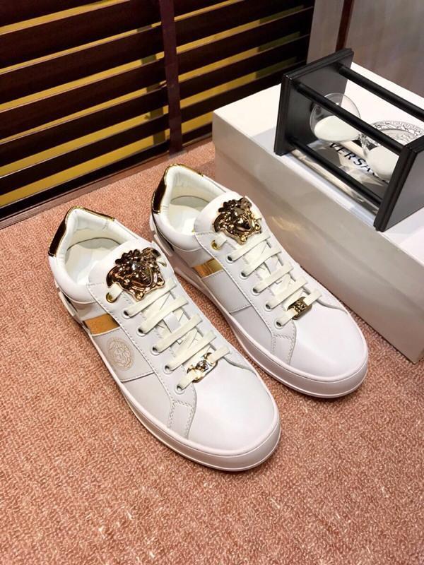 ; 2021j Lüks Moda Erkekler Ayakkabı Düşük -Top Dantel -Up Nakış Günlük Spor Ayakkabı, Yüksek -Kalite Casual Vahşi Açık Ayakkabı, Boyutu S: 38 -