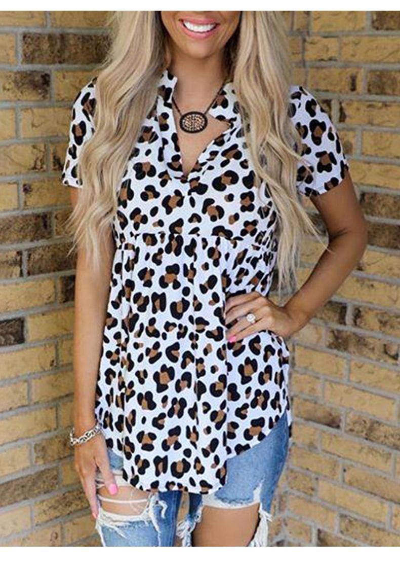 Moda Mujeres camiseta del verano con imprimieron casuales con cuello en V T Shirts Nueva llegada de las mujeres camisetas de alta calidad de vestir de las tapas del tamaño S-3XL