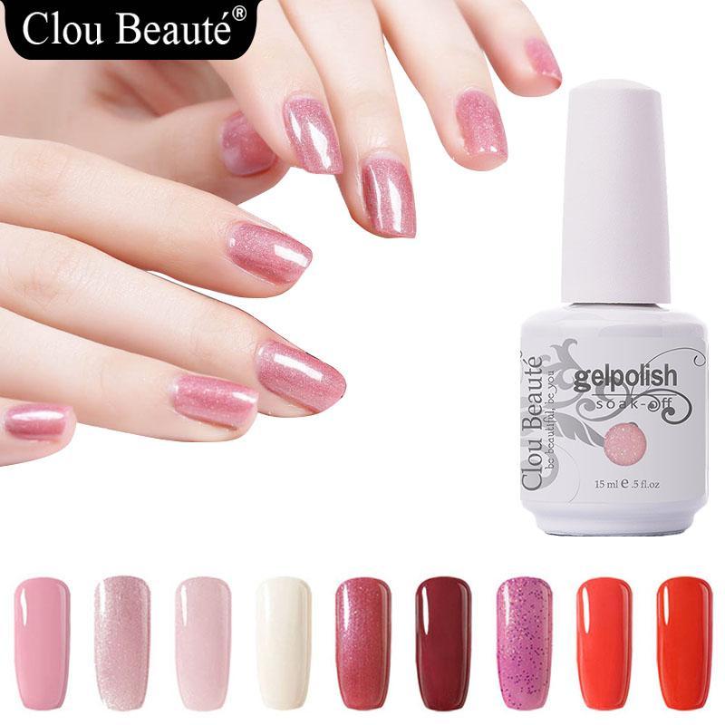 Clou Beaute 15ml 47 Colors Gellak UV Gel Polish Semi
