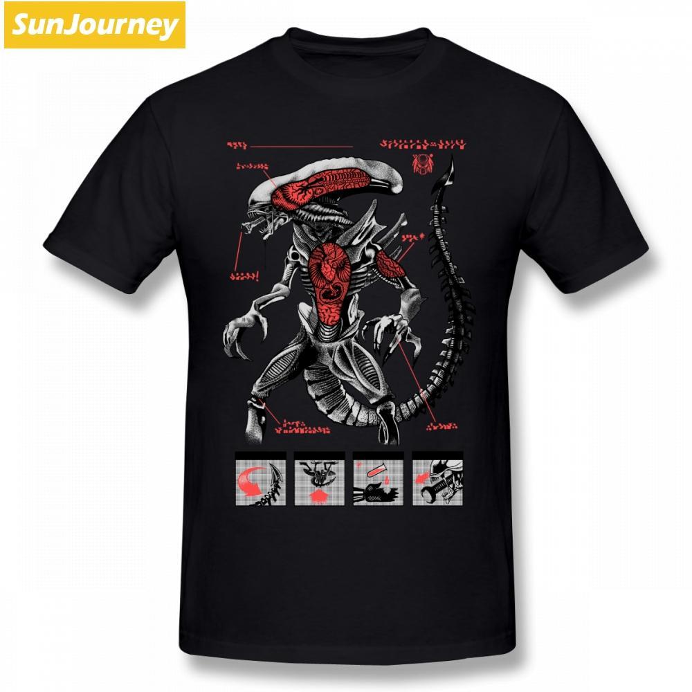 Alien Covenant Hipster-T-Shirt Camiseta T-Shirt Männer Baumwolle Crewneck XXXL Short Sleeve Tee Shirts Homme