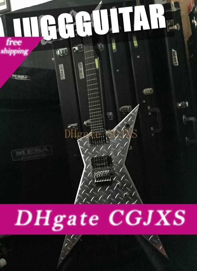 Formado rara guitarra Jack Wash Dime 3 Usa la placa del diamante invisible '; Dimeplate'; Dimebag Darrell guitarra eléctrica