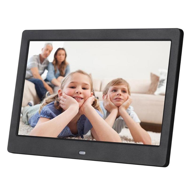 10 بوصة LCD عريضة عالية الدقة بقيادة الالكترونية صور الصور الرقمية الإطار الحائط الإعلان آلة هدية
