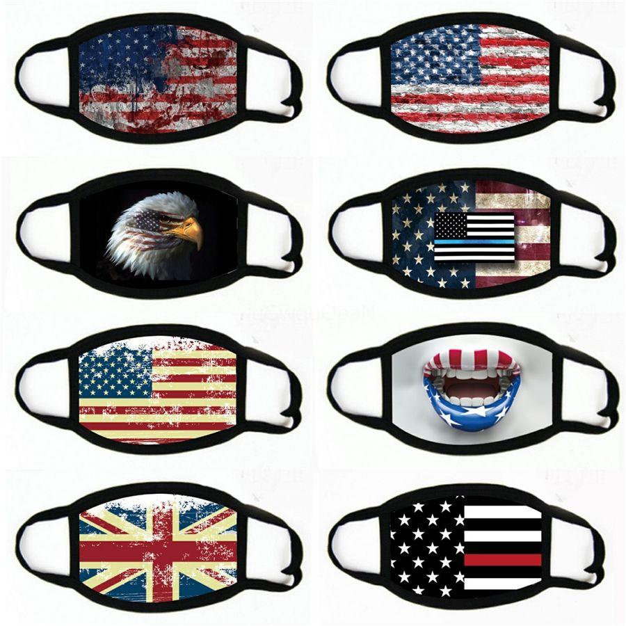 Dener Maske Maskeler Anti-Dust Kadın Erkek Fasion ben İpek Faric Wasale Amerika Birleşik Devletleri Bayrağı # 926 Maskesi