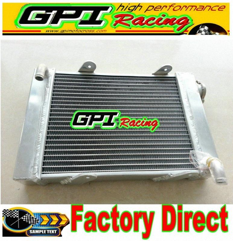 "GPI radiatore in lega di alluminio 45 millimetri Go per go kart-kart 15"" x 9.5"" x 1.8"" ucYf #"