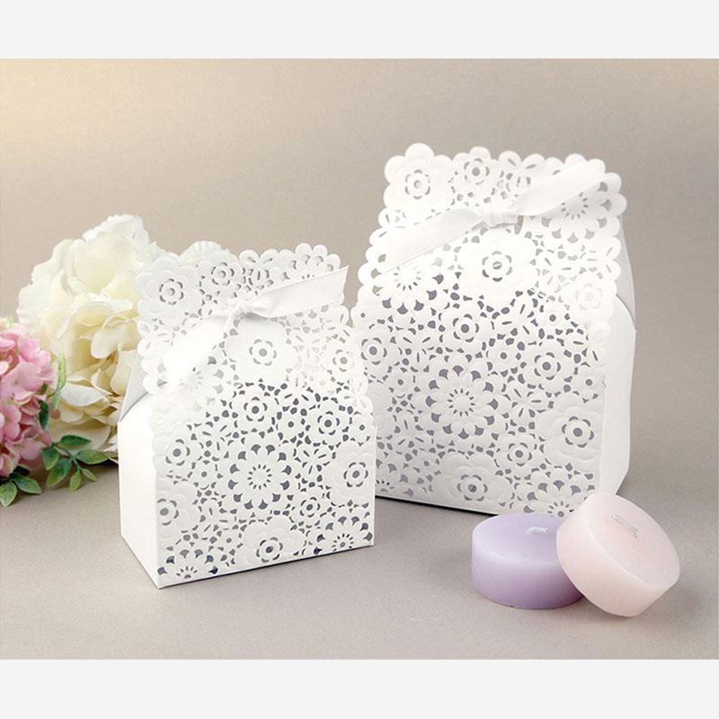 10шт Высококлассные Европейский Свадебный Candy Bag французского Благодарственная Свадебная коробка подарок пакет Birthday Party Рождественской польза сумка