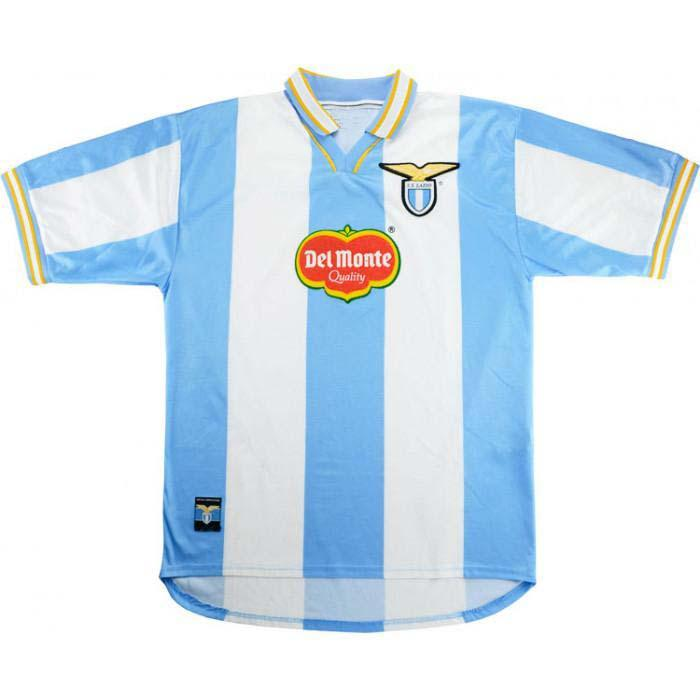 2021 1999 Lazio Retro Old Version Soccer Jerseys 99 00 Lazio ...