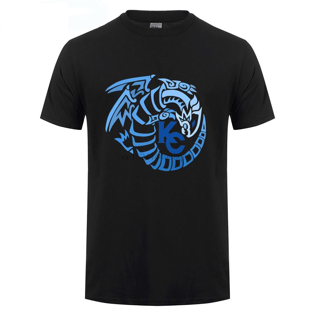 Kaiba Corporation Logo Blue Eyes White Dragon Édition T-shirt