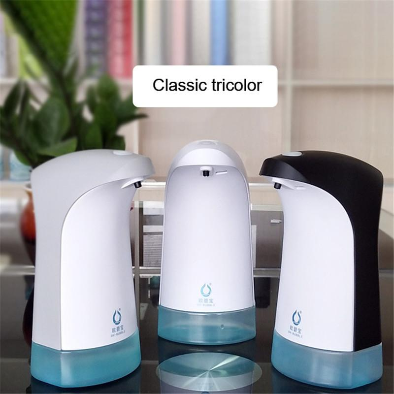 Automatico Schiuma Lavaggio Cellulare Smart Schiuma dispenser di sapone delle famiglie a parete-Punch libero Hand Sanitizer Box sapone pompa Y200407